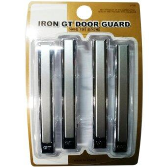 HC Iron GT Door Guard กันกระแทกประตู สีบรอน 4 ชิ้น