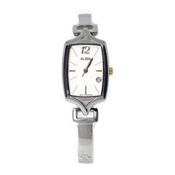Alba นาฬิกาข้อมือผู้หญิง สายสแตนเลส รุ่น AH7891X1 (Sliver/Gold)
