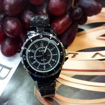 Sevenlight นาฬิกาข้อมือผู้หญิง ร่น WP8304 (Black/Silver)