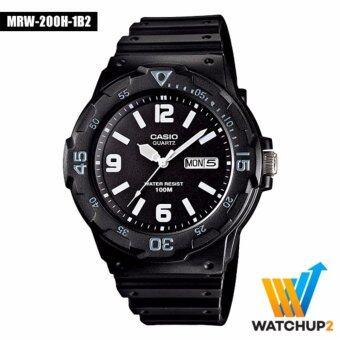 Casio Standard นาฬิกา รุ่น MRW-200H-1B2 - สีดำ
