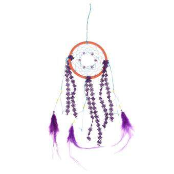 Harga Dream Catcher With Feather Circular Wall Hanging Decoration Car Ornament - intl