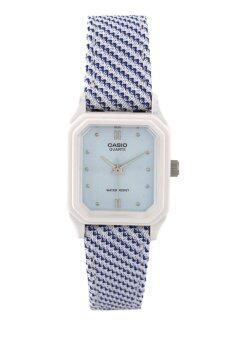 Casio นาฬิกาข้อมือผู้หญิง รุ่น LQ-142LB-2A2
