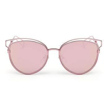 Allwin Eyewear Women Retro Vintage Shades Fashion Frame Cat Eye Sunglasses NEW Pink