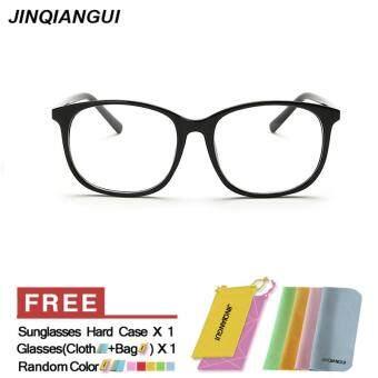 แฟชั่นแว่นตาสี่เหลี่ยม BrightBlack กรอบแว่นตาธรรมดาสำหรับสายตาสั้นสายตาแว่นตากรอบแว่นตาผู้หญิง óculos Femininos Gafas