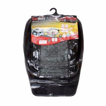 ถาดรองพื้นภายในรถยนต์ป้องกันสิ่งสกปรกวัสดุ PVC ชุด 5 ชิ้น
