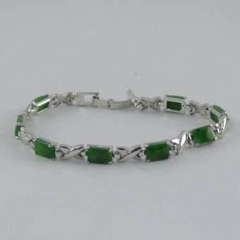 Pearl Jewelry สร้อยข้อมือหินหยก3