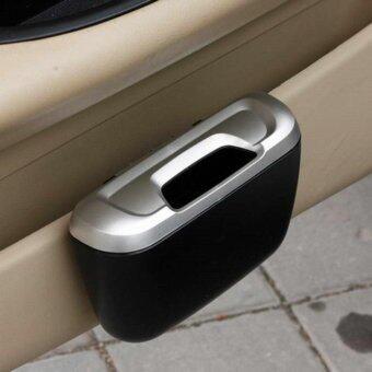 ถังขยะในรถ แบบแขวน Mini Auto Car Vehicle Trash Rubbish Can Garbage