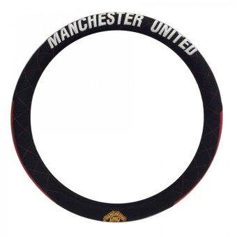 Manchester United ที่หุ้มพวงมาลัย Man U Brave V (สีดำแดง)