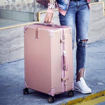 DC กระเป๋าเดินทาง รุ่น F02 สีชมพู 29 นิ้ว