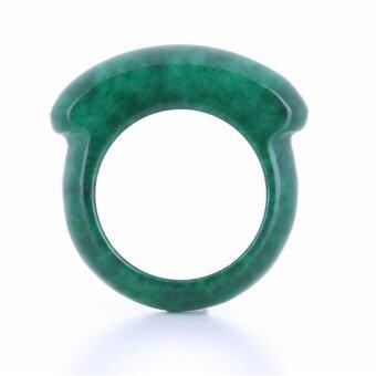 Pearl Jewelry แหวนหยก ทรงเหรียญจีน JR01