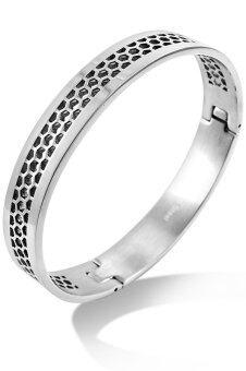 555jewelry กำไลข้อมือ รุ่น MNC-BG205-A (สี Steel)