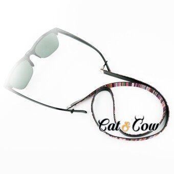 Cat & Cow รุ่น LC85-R, สายคล้องแว่นตา Eyewear Retainer สีแดง
