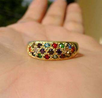 hindd แหวนพลอย ..นพเก้า