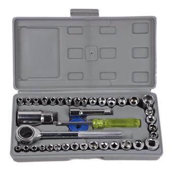 Crvid ประแจบ๊อกชุด 40 ตัวชุด Socket Wrench Set *1box