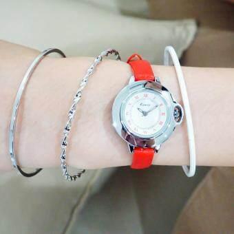 Kimio ชุดคู่นาฬิกาพร้อมกำไลข้อมือ ซื้อ 1 แถม 1 รุ่น KW515S ฟรีกำไลข้อมือ(คละแบบ) รุ่น BG-B0010 นาฬิกาพร้อมกำไลข้อมือ นาฬิกาผู้หญิง สร้อยข้อมือ สไตล์เกาหลี