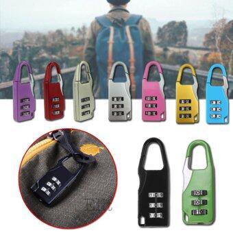 Elit กุญแจล็อคกระเป๋าเดินทาง กุญแจแบบตั้งรหัสผ่าน กุญแจล็อครหัส (คละสี)