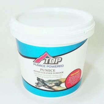 TOP Pumice Powered Hand cleaner powder ผงล้างมือขจัดคราบน้ำมัน ผลิตภัณฑ์เป็นผงแร่ภูเขาไฟที่สกัดจากธรรมชาติ ph7 เป็นมิตรต่อสิ่งแวดล้อม คุณสมบัติ ล้างคราบน้ำมัน คราบสกปรก จารบี ยางมะตอย ยางกล้วย กาว สี ที่เปื้อนมือออกอย่างรวดเร็ว