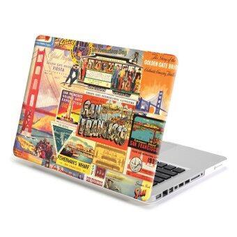 GMYLE เคส MacBook Pro 13 นิ้ว พร้อม CD-Drive (ลายซานฟรานซิสโก)