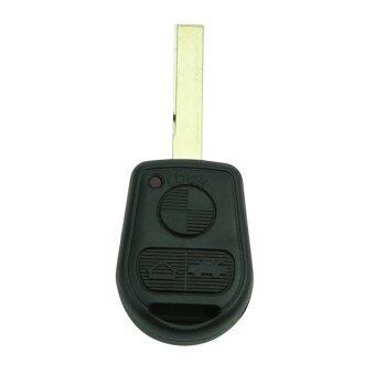 กุญแจรีโมททรงสังข์สำหรับ BMW E31 E32 E34 E36 E38 E39 E46 Z3 เคสโกง 3 BTN เจียระไน