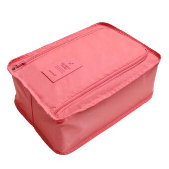 MONOPOLY กระเป๋าใส่รองเท้า ขนาดพกพา ป้ายซิลิโคน - สี Pale Pink