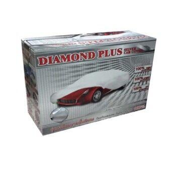 Diamond Plus ผ้าคลุมรถ Silver ไซส์ L Toyota Camry Honda Accord/CR-V