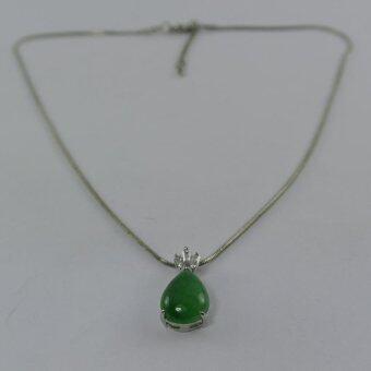 Pearl Jewelry สร้อยคอจี้หยกหยดน้ำ JD12