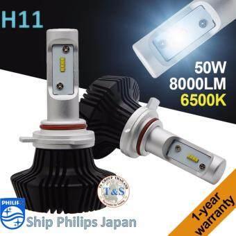 LED ไฟหน้ารถยนต์ LED รุ่น G7 ขั้วหลอด H11