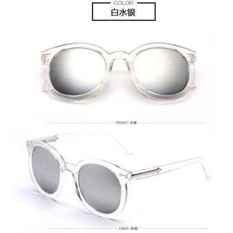 แว่นตากันแดดแฟชั่นทรงกลม ลายวินเทจ Retro ย้อนยุค กรองรังสี Uva/uvb