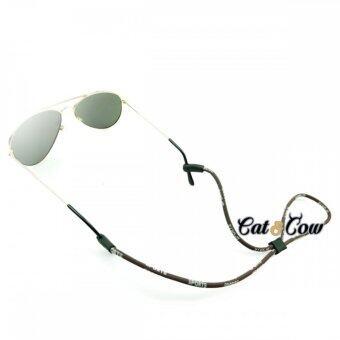 Cat & Cow รุ่น LC10-BR, #สายคล้องแว่นตา Eyewear Retainer สีน้ำตาล