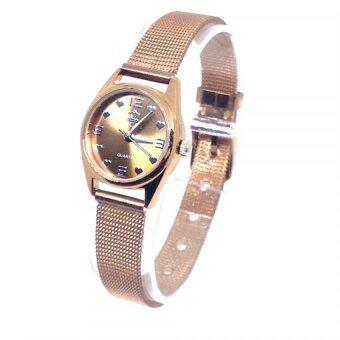 OSCAR นาฬิกาข้อมือ สีพิ้งค์โกลด์ สายสเเตนเลส รุ่น Y5284
