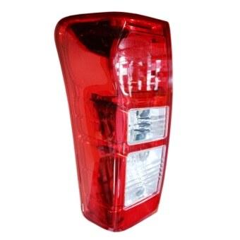 ISUZU-Propart เสื้อไฟท้าย LED เเดง D-MAX ALL NEW 2012 ตราเพชร LH