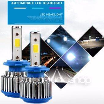 LED หลอดไฟหน้า รถยนต์ H4 ไฟสูง/ต่ำ INTENSE BRIGHT แสงขาว 6000K