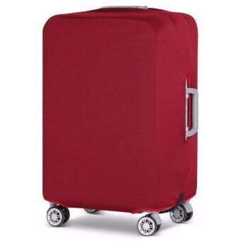 ผ้าคลุมกระเป๋าเดินทางแบบยืดเพิ่มความหนาหูหิ้วขวาซ้าย XL29-32'