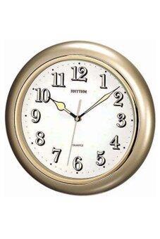 RHYTHM นาฬิกาแขวน รุ่น CMG710NR18 (GOLD)