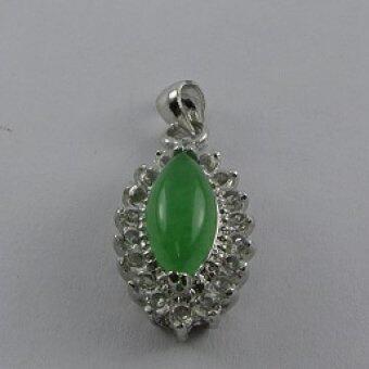 Pearl Jewelry จี้ห้อยคอหยกมาคี PD18