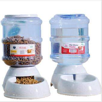 Harga 3.5 L Automatic feeder for pets animal pet bowl for pets feeder(feeder) - Intl