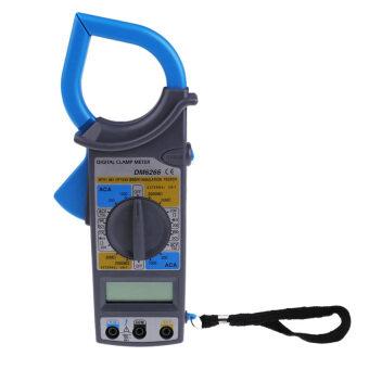 HKS DM6266 LCD Digital Clamp Meter AC DC Current Voltage Resistance Tester (Blue) - intl ราคาถูกที่สุด ส่งฟรีทั่วประเทศ