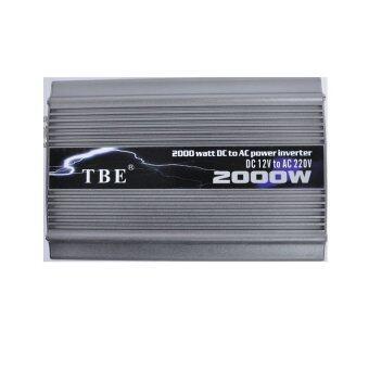 Mastersat TBE Inverter 2000 Watt ตัวแปลงกระแสไฟฟ้าในรถให้เป็นไฟบ้าน (Silver)