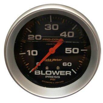 auto meter เกจวัดบูส Boost เทอร์โบ AutoMeter หน้าน้ำมัน-ดำ 2.5นิ้ว