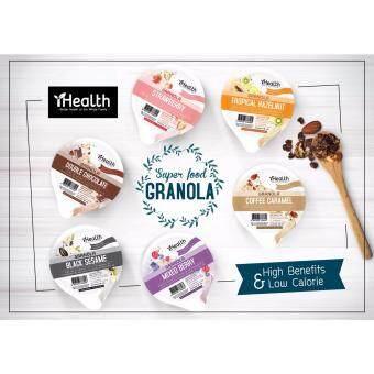 iHealth Granola กราโนล่า ธัญพืชอบกรอบ คละรส 38g (12ถ้วย)