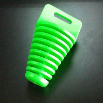 จุกอุดท่อขนาดใหญ่สีเขียว ใช้วัสดุในการผลิตเกรดดี สามารถใช้กับรถมอเตอร์ไซด์ได้ทุกรุ่น