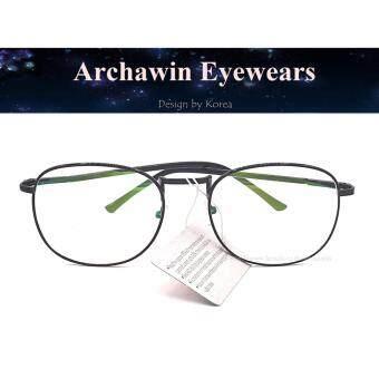 แว่นตากรองแสง กรอบแว่นสายตา ทรงหยดน้ำ รุ่น 905 (กรองแสงคอม กรองแสงมือถือ ถนอมสายตา)
