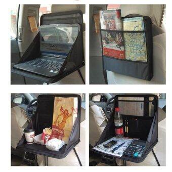 TravelGear24 ที่เก็บของหลังเบาะ วางโน๊ตบุ๊คได้ กระเป๋าหลังเบาะ Car Back Seat Storage for Notebook