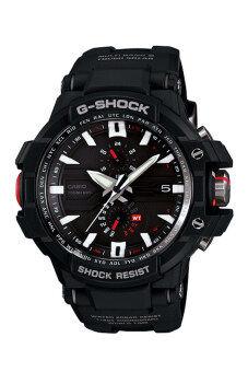 Casio G-shock Gravity นาฬิกาข้อมือผู้ชาย สีดำ สายเรซิ่น รุ่น GW-A1000-1A