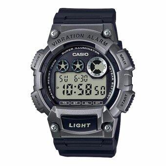 Casio Standard นาฬิกาข้อมือผู้ชาย สายเรซิ่น รุ่น W-735H-1A3