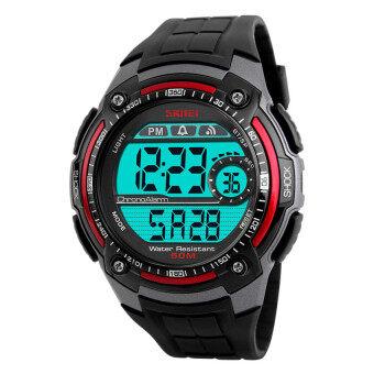 2559 คุณภาพดีที่สุด SKMEI 1203คนกีฬาแฟชั่นนาฬิกากันน้ำ (สีแดง)