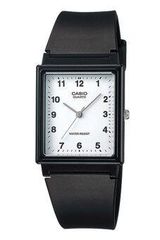 Casio Standard นาฬิกาข้อมือ ชาย และหญิง สีดำ สายเรซิ่น รุ่น MQ-27-7BDF