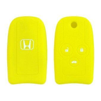 ซิลิโคนกุญแจ HONDA 02 สีเหลือง