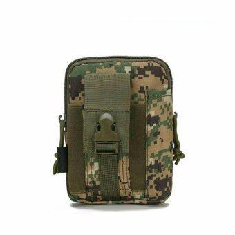 SAPA กระเป๋าร้อยเข็มขัด ใส่โทรศัพย์และอุปกรณ์ต่างๆ เหมาะสำหรับท่านที่ชอบเดินป่า 3 ช่องขนาดใหญ่ รุ่น SPG03-5