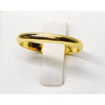 PGold แหวนทองเกลี้ยง ทองคำแท้ 96.5% 1 กรัม เบอร์ 48